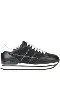 'Allacciato H 222' leather sneakers Hogan