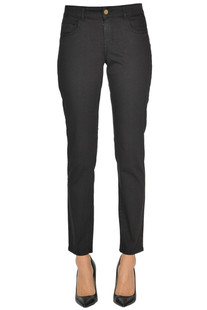 5 pockets style cotton trousers Nenette
