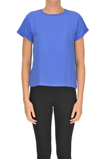 Silk and cotton t-shirt Seventy 19.70