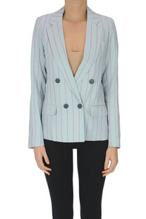 Pinstriped double-breasted blazer Hod