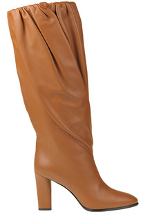 Draped leather boots Givenchy