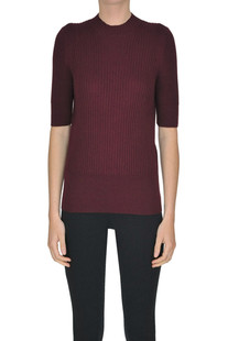 Ribbed knit pullover MM6 by Maison Martin Margiela