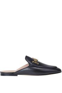 Leather mules Tod's