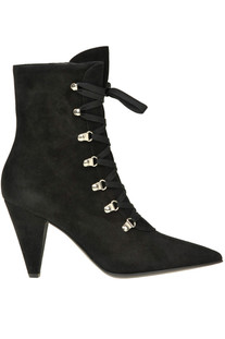Waterloo suede lace up ankle boots Gianvito Rossi