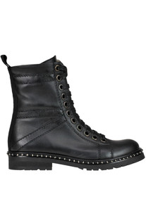 Leather lace-up boots Maliparmi