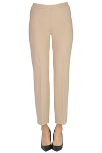 Viscose-blend trousers 1 One