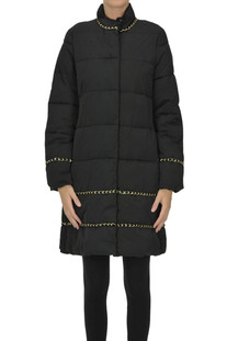 Quilted ecofriendly down jacket  Twinset Milano