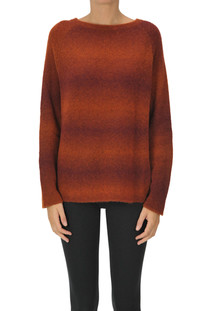 Blended effect knit pullover Base Milano