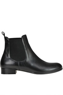 Leather Beatles ankle boots Yosh Collection