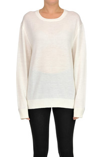 Virgin wool pullover Jil Sander