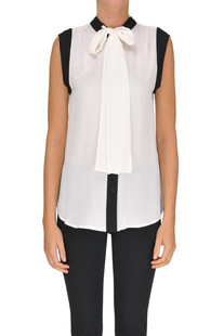 Sleeveless silk shirt Michael Michael Kors