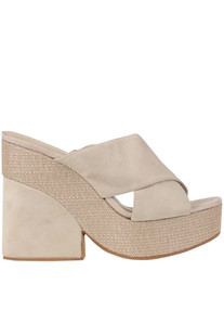 Wedge mules Marcela Yil