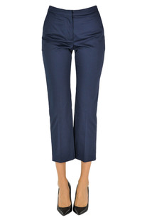 Cropped cotton trousers Mulberry