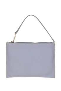 Leather envelope bag Jil Sander