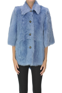 Fur jacket RED Valentino
