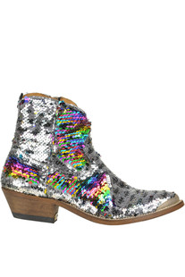 Stivali texani Young con paillettes Golden Goose Deluxe Brand