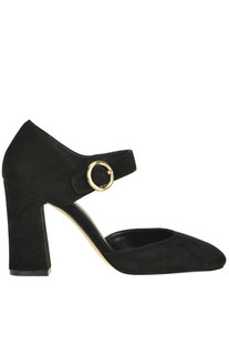 Alana Mary Jane suede pumps Michael Michael Kors
