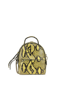Petit python leather mini backpack Orciani