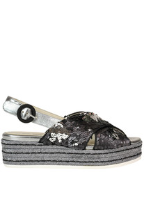 Sequined sandals 181