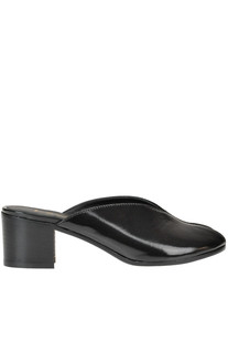 Brushed-leather mules Lemaré