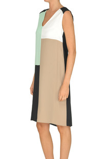 Color block dress 1 One