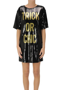 Sequined dress Moschino Couture