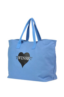Canvas beach bag Twin Set U&B