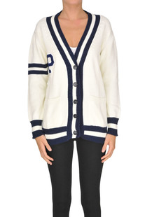 College style cardigan P.A.R.O.S.H.
