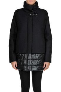 Down jacket with wool and cashmere cloth Fay