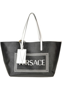 Designer logo shopping bag Versace