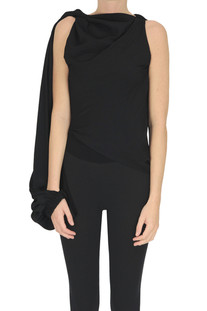 Draped one-sleeve top JW Anderson