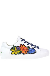 Embellished leather sneakers Ash