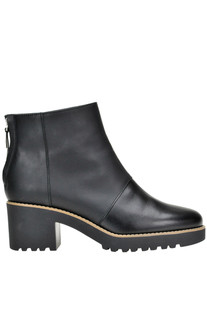 Leather ankle boots Hogan