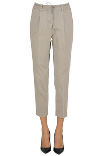 Chino style cotton trousers Argonne