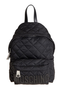 Quilted fabric backpack Moschino Couture