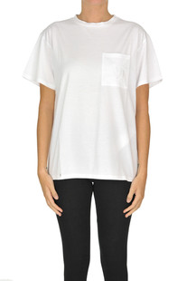 Embroidered designer logo t-shirt Max Mara