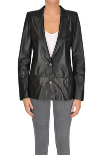 Nappa leather blazer Drome
