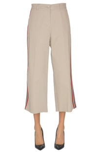 'Eclissare' cropped trousers Pinko
