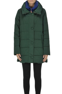 Fur collar down jacket Violanti