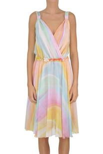 Printed crepe dress Patrizia Pepe