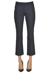 Cropped cotton trousers Argonne