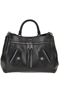Leather bag Moschino Couture