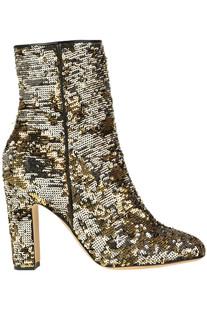 Sequined ankle boots Paris Texas