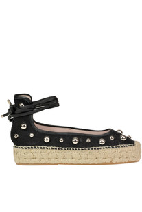 Studded canvas espadrillas Premiata