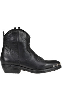 Leather texan ankle-boots Charme 2.0