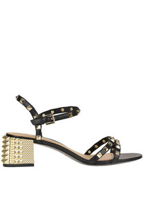 'Rush' studded leather sandals Ash
