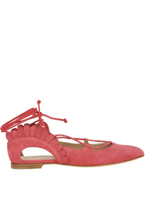 'Bloom' suede ballerinas Paula Cademartori
