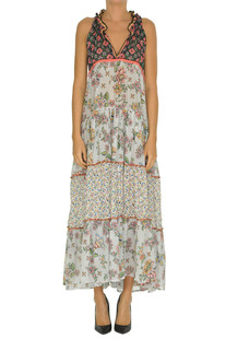 Printed cotton dress Anjuna