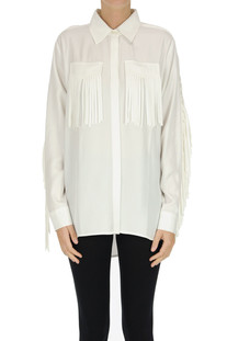 Fringed oversized shirt P.A.R.O.S.H.