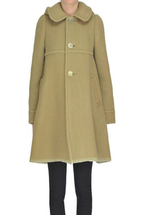 Structured wool-blend cloth coat Comme des Garcons